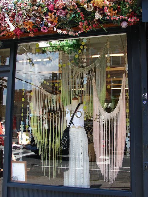 Beautiful Window Displays!: Free People Window Displays