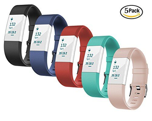 For Fitbit Charge 2 Bands TreasureMax Replacement Band with Metal Clasp for Fitbit Charge 2 Band / Charge 2 Fitbit / Fitbit 2 / Charge 2 Bands / Fitbit Charge 2 No Tracker