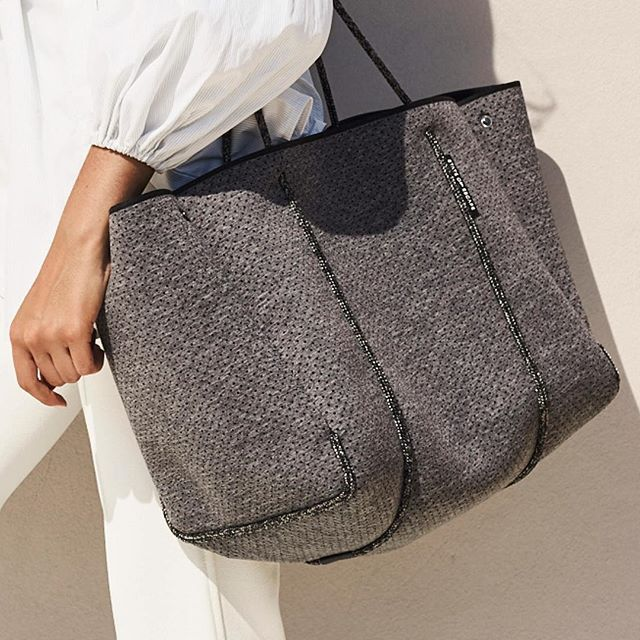 Everyday, all day and away. An inspired moment #custommade #theoriginal #luxe… The originators and creators of the perforated neoprene Escape carryall bag. 100% designed and handcrafted in Australia.