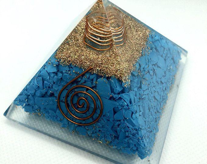Orgonite Pyramid Orgone Violet Flame Merkaba Flower Of Etsy Orgonite Orgonite Pyramids Orgone Energy