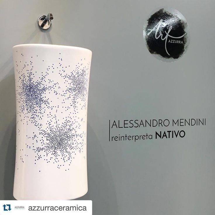 #Repost @azzurraceramica with @repostapp. ・・・ #AzzurraArt @ #SalonedelMobile with NATIVO design #AlessandroMendini ••• #AzzurraCeramica #preview #salonedelmobile2016 #salone2016 #salonebagno #isaloni2016 #bathroomdesign #bathroomdecor #bathrooms #bathroominterior #design #designlovers #instadesign #arredobagno #sanitari #civitacastellana #showroom  #salone2016 #salonedelmobile #salonedelmobile2016 #salonebagno #isaloni #MDW2016 #mdw16 #MatteoRagni #DuilioForte