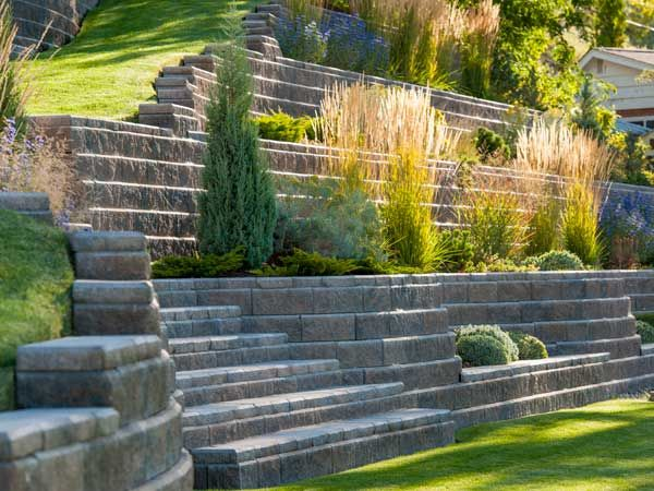 17 best images about stone walling on pinterest raised for Landscape blocks