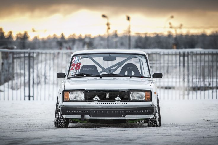 VAZ-2105: Drift in any weather