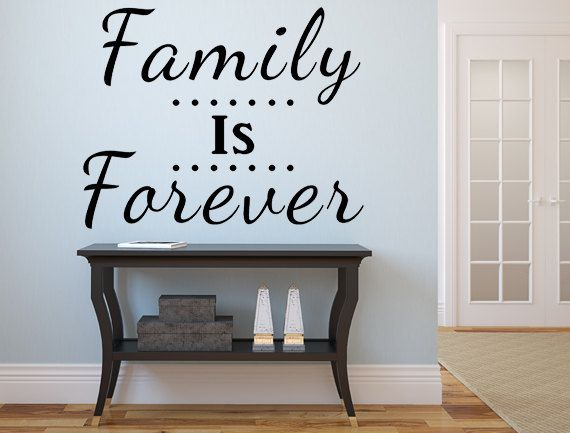 Best Family Wall Decals Images On Pinterest Family Wall - Custom vinyl wall decals sayings for family room