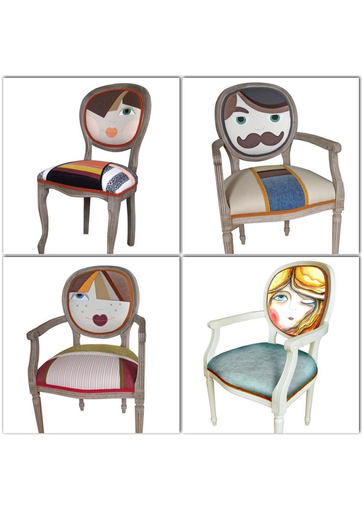 And more quirky chairs! Love them! By Irina Neascu