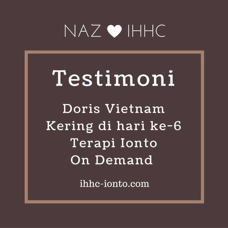 Penderita hyperhidrosis asal Vietnam Doris kering dari hyperhidrosis setelah 6 hari jalani Terapi Ionto On Demand. Naz setiap pagi datang keapartemen tempat tinggal Doris di Apartemen Hayam Wuruk J…