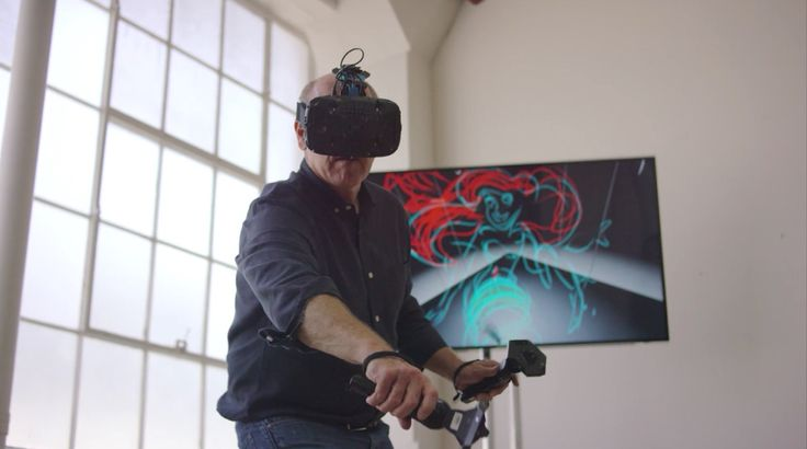 Glen Keane drew your childhood, now he's drawing the future.