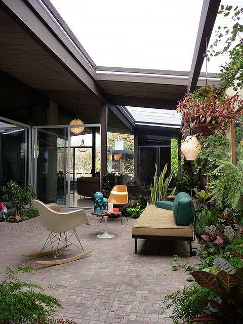 Eichler Atrium by ladconcord, via Flickr