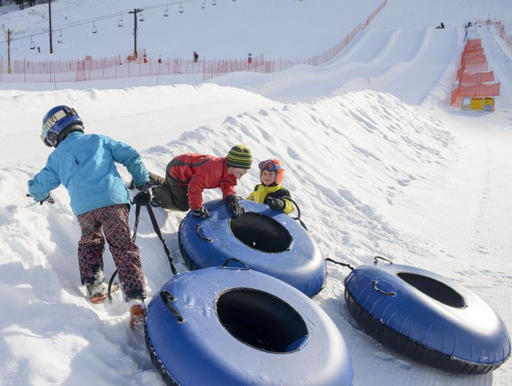 Kings of King Tubes | Snow King Sledding is fun for kids and families! | Jackson Hole, Wyoming