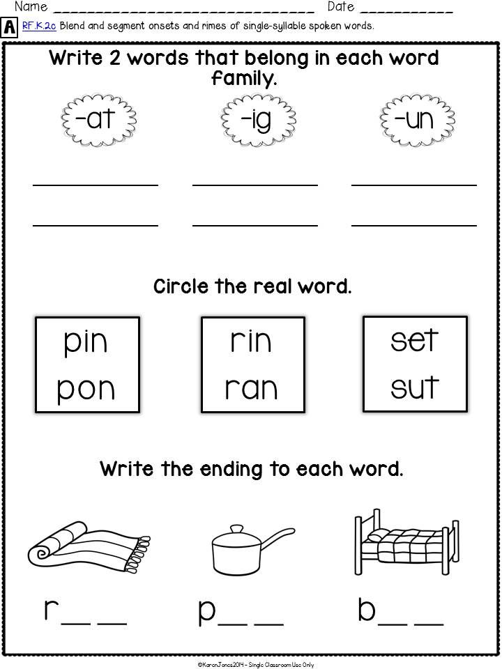 Make end-of-year assessing a BREEZE! {Kindergarten Common Core ELA Assessment Pack for all RF standards} Written and performance assessments, detailed rubrics, data tracking and more! Totally kinder (and teacher)  friendly! $