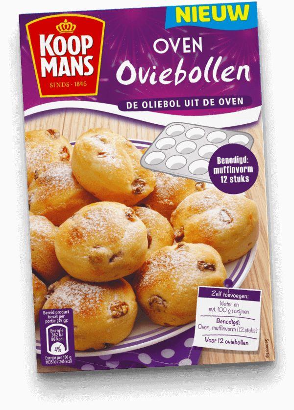 Oliebollen kun je ook in de oven maken. Kijk hier voor het lekkere recept van Hadewych.