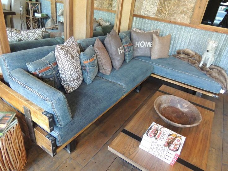 25 Best Ideas About Denim Sofa On Pinterest Bench Jeans Blue Sofas And Grey Couch Covers