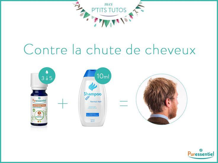 [#PtitTuto] Chute de cheveux ? Utilisez 3 à 5 gouttes d'huile essentielle de gingembre pour 10ml de votre shampoing :)  ► http://bit.ly/PRODUITS