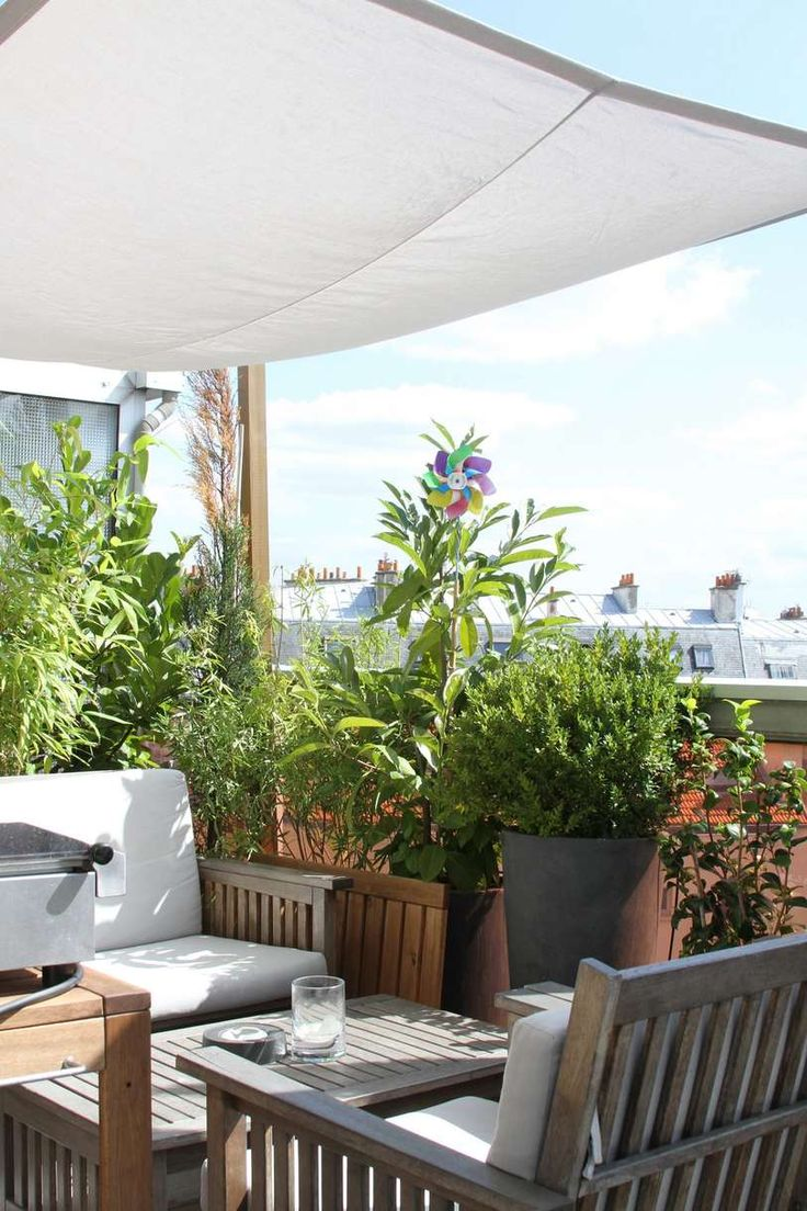 25+ Best Ideas About Appartement Terrasse Paris On Pinterest ... Verglaste Terrasse Oder Veranda