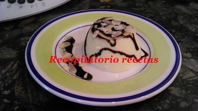 Recopilatorio de recetas : Delicias mascarpone con sirope de chocolate y almendra thermomix
