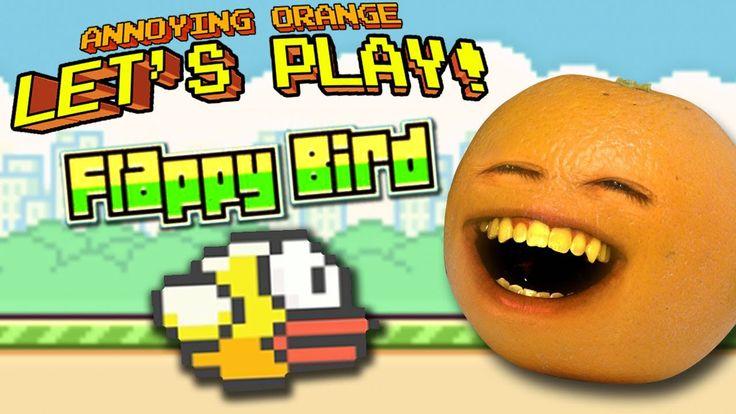 Annoying Orange Let's Play - Flappy Bird (+playlist)