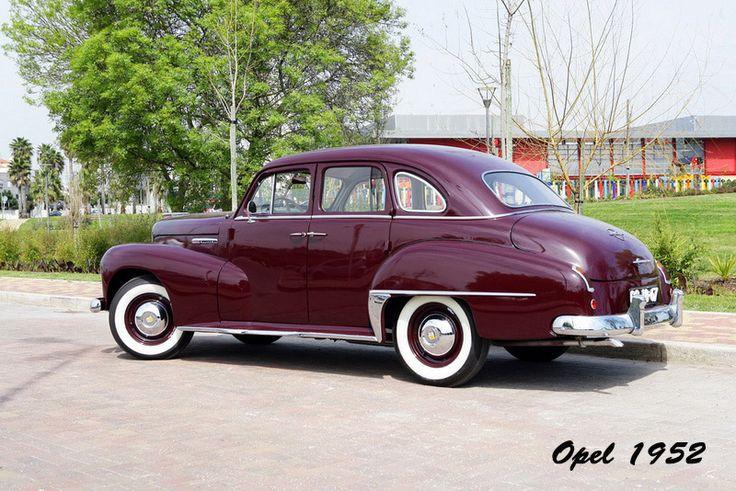 Opel 1952, modelo Kapitän Limousine