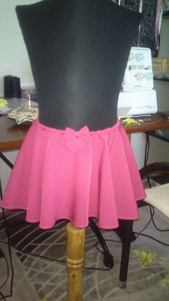 Children's skirt size waist 44-52cm long 21 cm.
