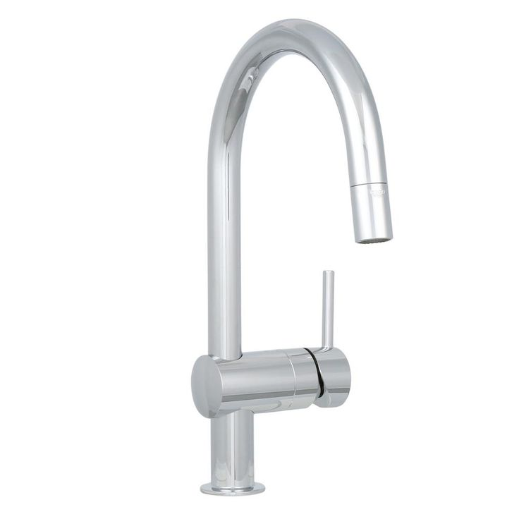 Latest Minta Pulldown Sprayer Kitchen Faucet In Starlight Chrome Grohe  Starlight With Grohe Wasserhahn Kche
