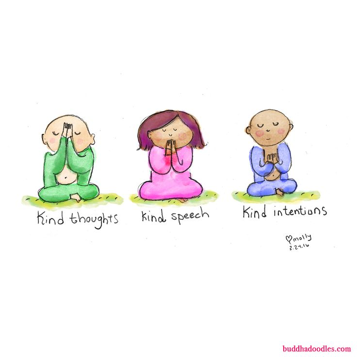 Buddha doodle!  My yoga teacher always ends the class with this beautiful sentiment. Love Pam x