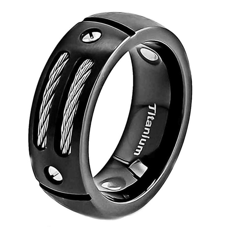 12 best Mens Wedding Ring Ideas images on Pinterest Mens titanium