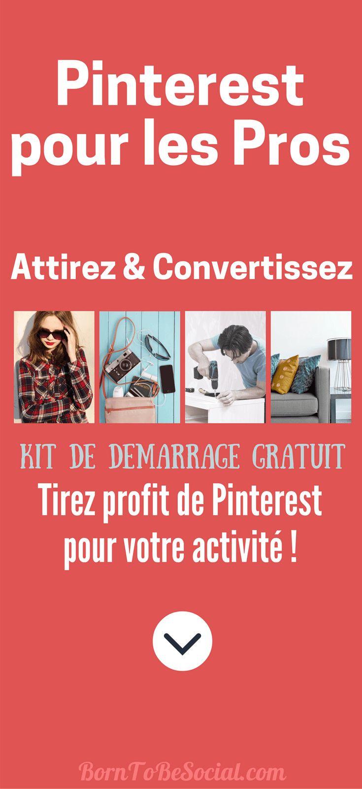 Un compte Pro Pinterest est gratuit,offre des informations précieuses & des fonctionnalités supplémentaires!Son installation est un jeu d'enfant.Lancez-vous!