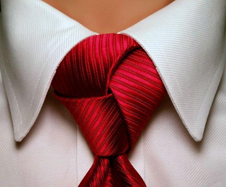 Pre Tied Trinity Tie Knot 100% Polyester Pre Knotted Necktie Knot