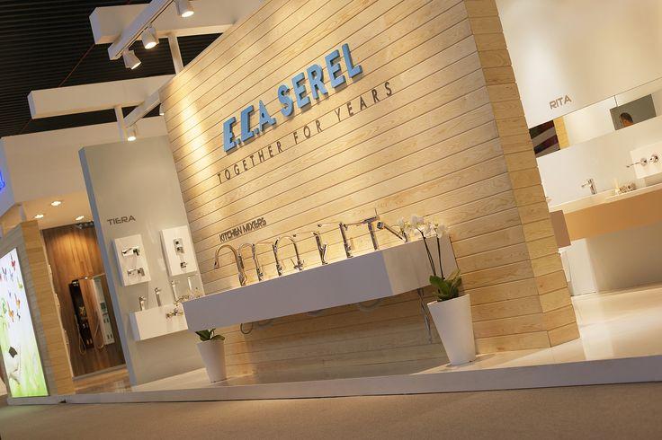 ECA SEREL Cersaie fuar standı 2016, İtalya ECA Serel Cersaie 2016 Fuar standı. İtalya'nın Bologna şehrinde heryıl düzenlenen uluslararası banyo ve seramik fuarı Cersaie'de bubuyılki ECA SEREL fuar standının tasarım ve uygulaması Solid Mimarlık tarafından yapıldı.  Fuar stand, international exhibition company, fair design, design, exhibition, fair, stand, office decoration, home decoration, ofis dekorasyonu, mağaza dekorasyonu, iç mimarlık, mimari,  ev dekorasyonu,  www.solidmimarlik.com