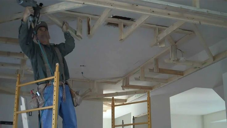How To Frame Drop Box Ceilings Home Renovation Tips In