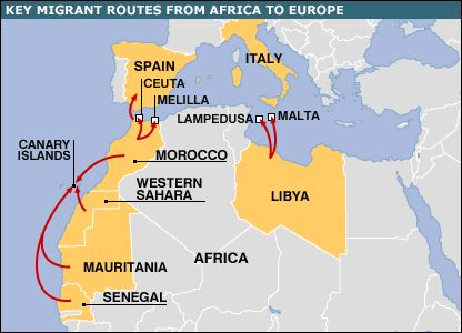 307 best maps ancient and modern images on pinterest maps interrogating the wave media representations of african migrant sciox Images