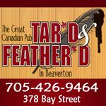 Beaverton - The Great Canadian Pub http://luresandtours.com/index.php/food-entertainment/south-central-ontario-4/tar-d-feather-d