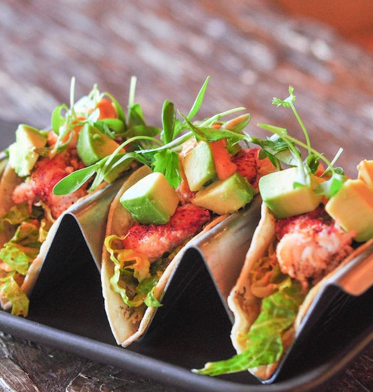 Wow your guests at your next get together with these Lobster Tacos