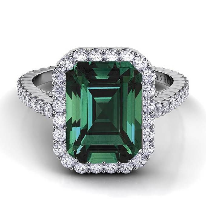 Green Engagement Rings Get The Look