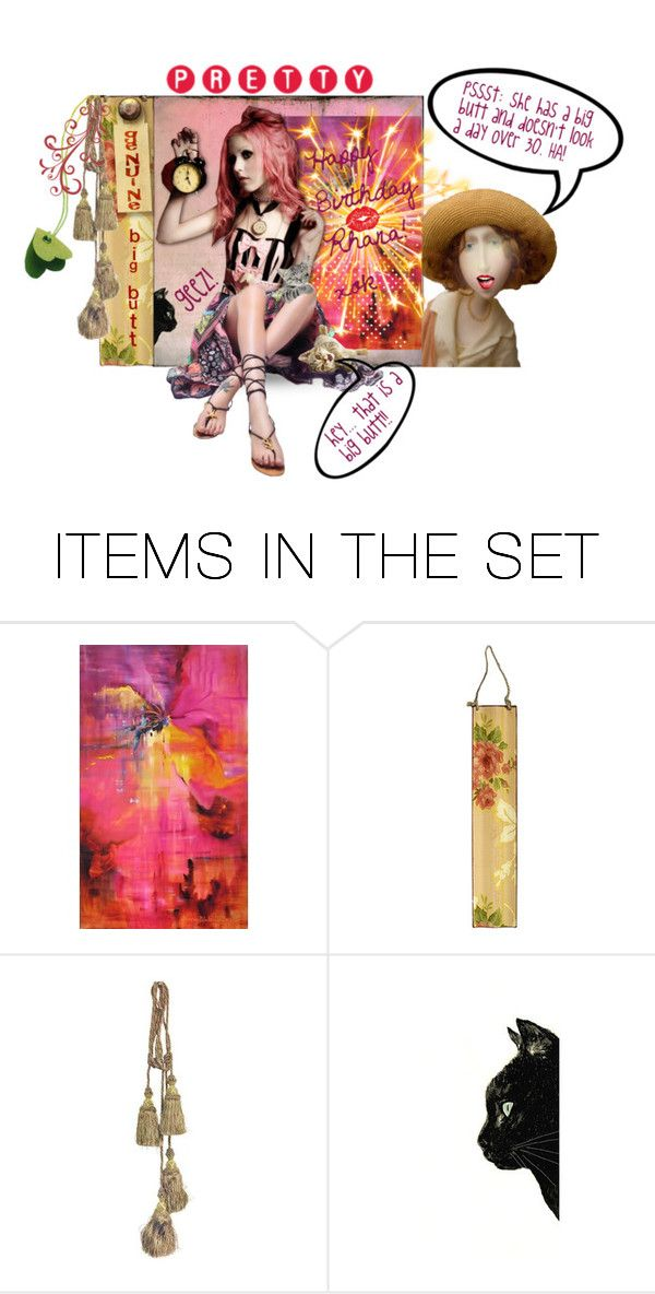 """""""Happy Birthday My Friend @rboowye"""" by confusgrk ❤ liked on Polyvore featuring art"""