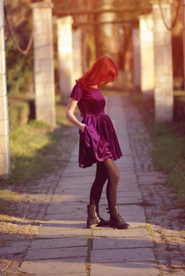 Purple haze dress