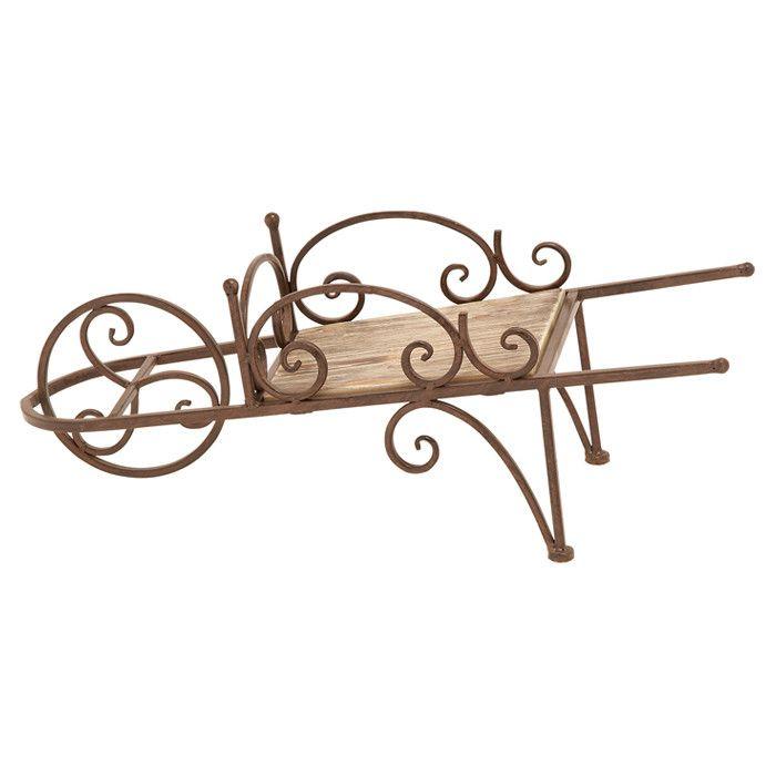 Wheelbarrow Decor