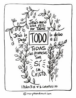 20 Best Spanish Bible Coloring Pages Images On Pinterest