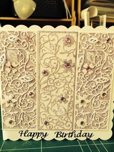 Tattered Lace Cards on Pinterest | 296 Pins