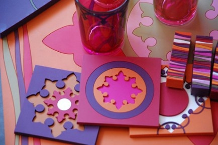Fun design for your table  Inspired by Mediterranean heritage and made in a very modern material, PVC, our colorful tabletop items feature coasters, bottle holders, trivets, placemats, knife rests, change trays, presentation plates, and trays .