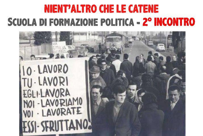 """Scuola politica, alla Casa del Popolo il secondo incontro: """"capitale vs lavoro"""""""