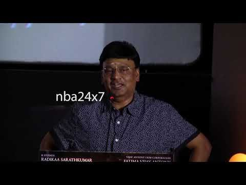 Annadurai Audio Launch   K. Bhagyaraj   Vijay Antony has self Confidence...