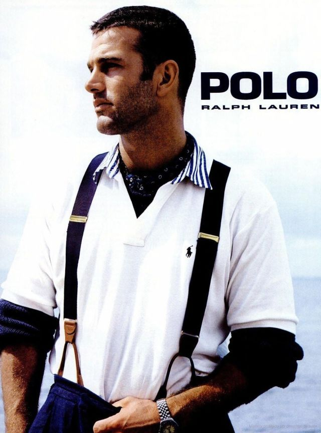 Polo ralph lauren black male models