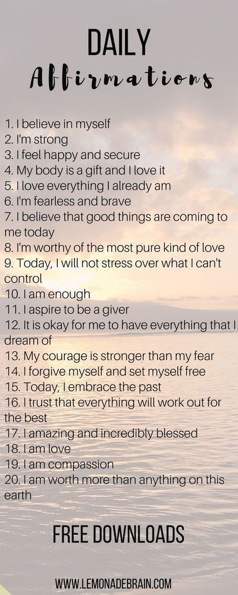 Affirmations that will change your life – Pepita