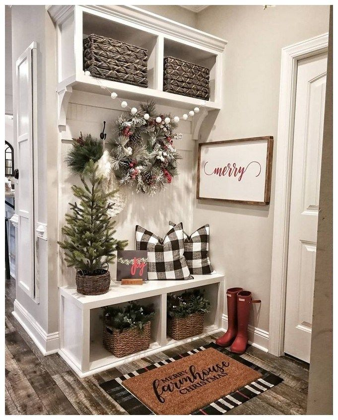 43 Beautiful Rustic Entryway Decoration Ideas: 58 Beautiful Rustic Entryway Decor Ideas 21 In 2019