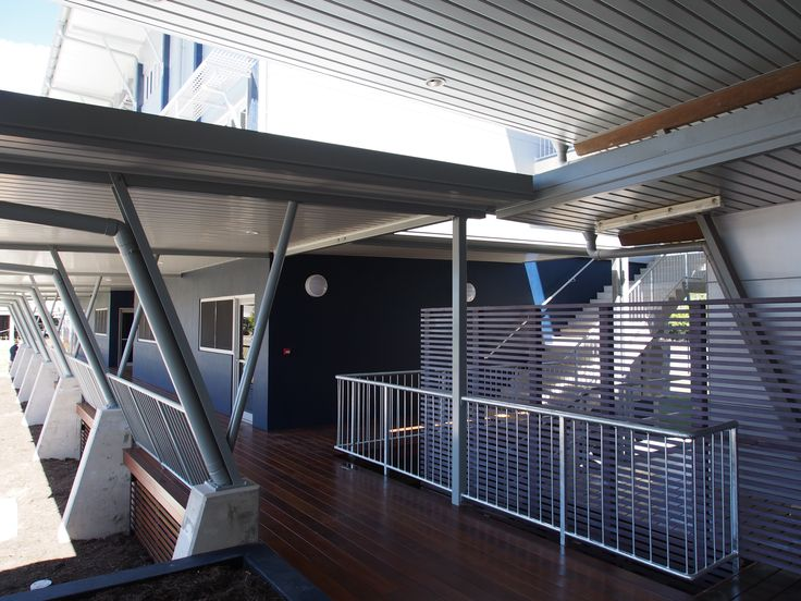 Linkway to Science Class Rooms - St. Augustine's College, Cairns.