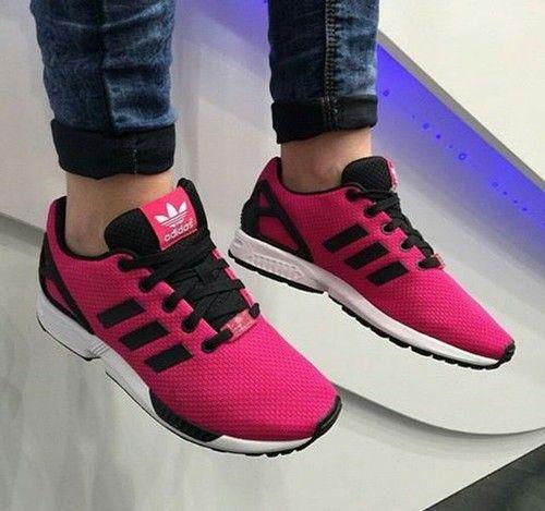 ADIDASZXFLUX❤ adidas zx flux adidas #pink
