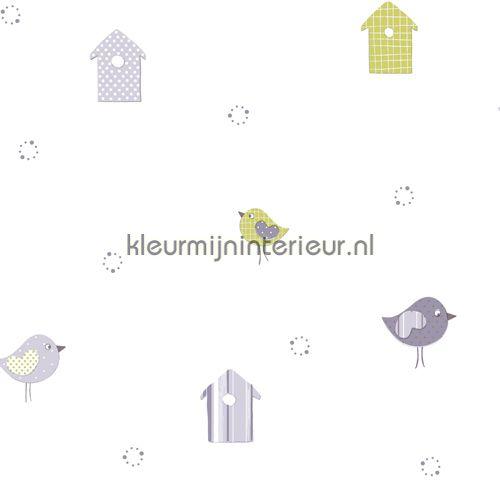 Baby Birds 10133   behang Babies van Dutch Wallcoverings   kleurmijninterieur.nl