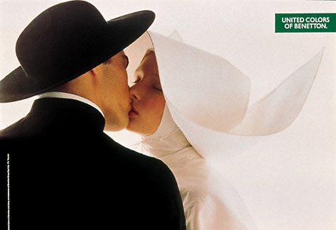 Oliviero Toscani discussed United colors of Benetton ads, a revolurion for Italian advertising and society