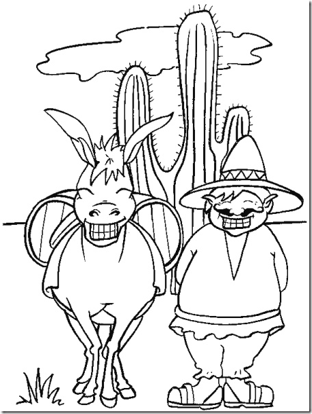 mexico and coloring pages - photo#39