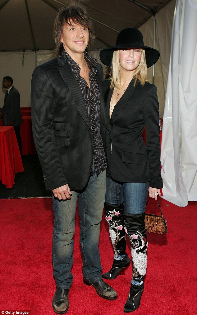 Heather Locklear And Ex Husband Richie Sambora Look Very